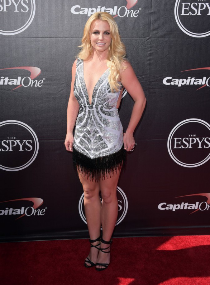 Britney Spears le 15 juillet 2015