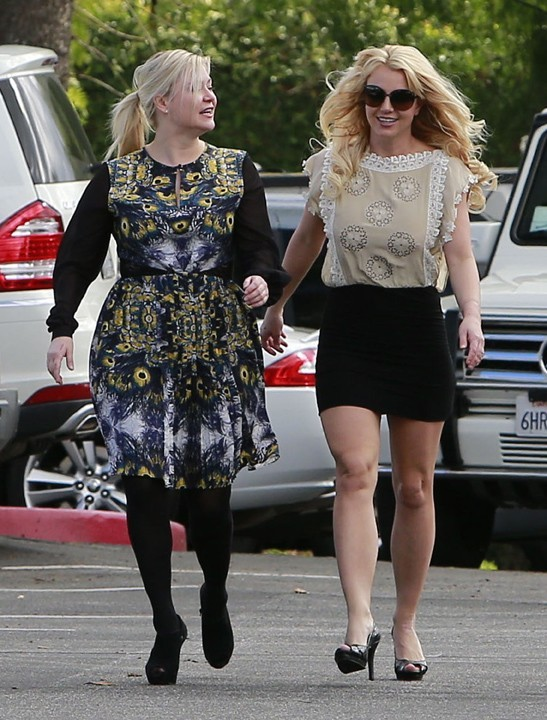 Britney Spears à Thousand Oaks, en Californie, le 27 janvier 2013