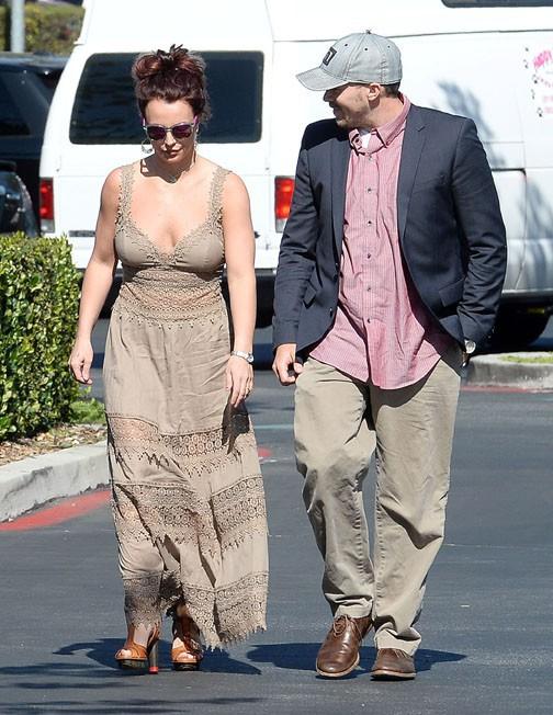 Britney Spears à Thousand Oaks le 21 février 2014