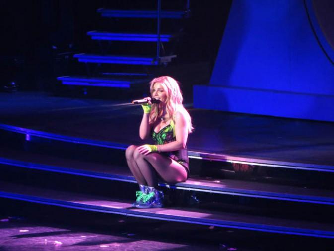 """Britney Spears pour le lancement de son show """"Piece of Me"""" à Las Vegas le 27 décembre 2013"""
