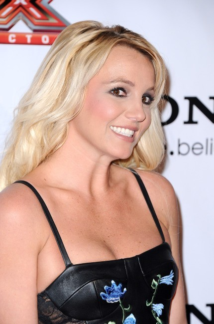 Britney Spears lors de la soirée X-Factor à Los Angeles, le 6 décembre 2012.