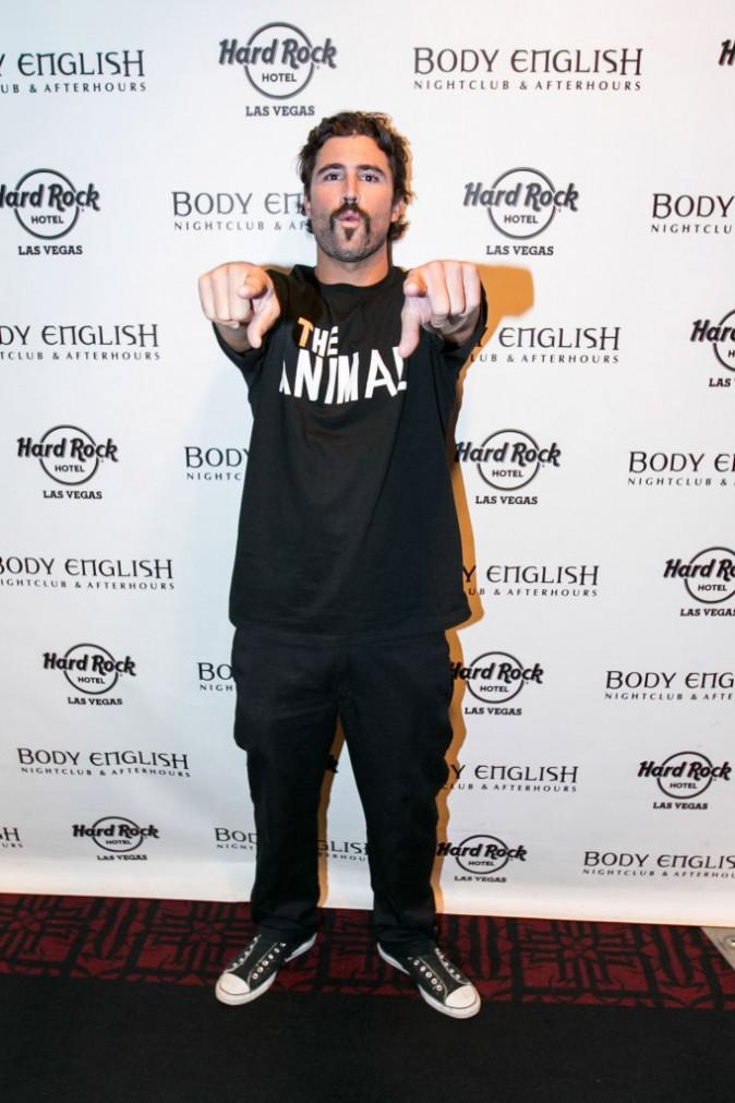 Brody Jenner à Las Vegas le 17 août 2014