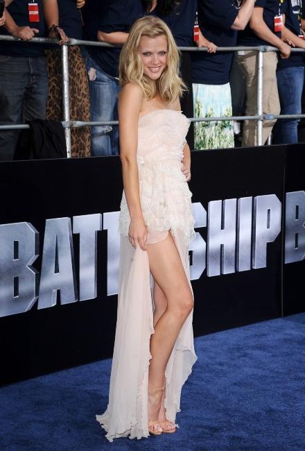 Brooklyn Decker lors de la première du film Battleship à Los Angeles, le 10 mai 2012.