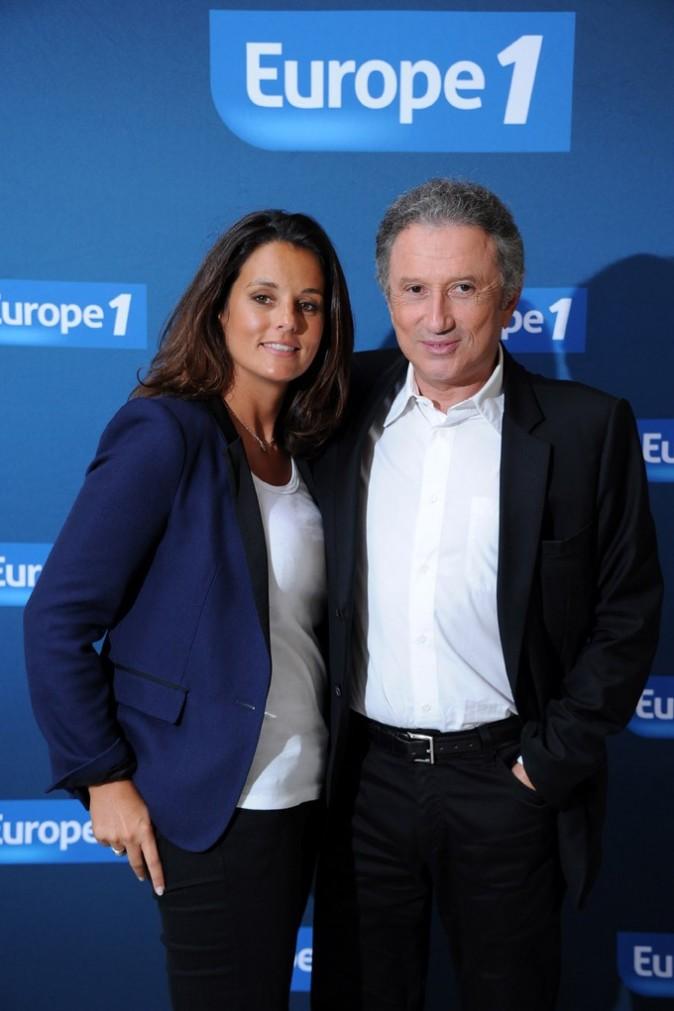 Faustine Bollart et Michel Drucker