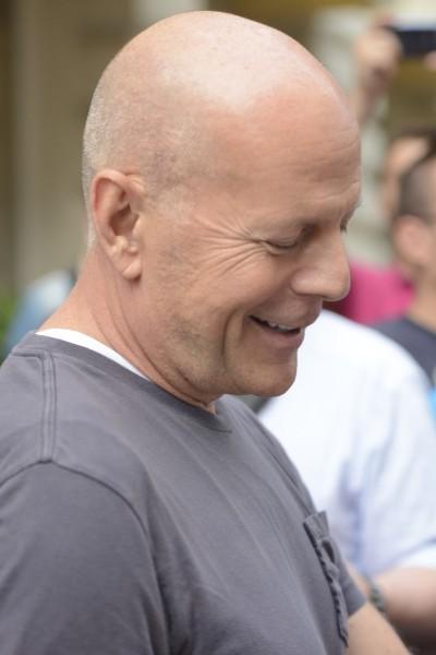 Bruce Willis en vacances à Munich le 26 juillet