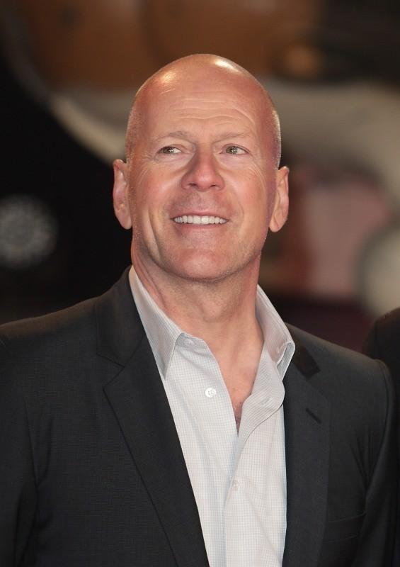 """Bruce Willis lors de la première du film """"A Good Day to Die Hard"""" à Londres, le 7 février 2013."""