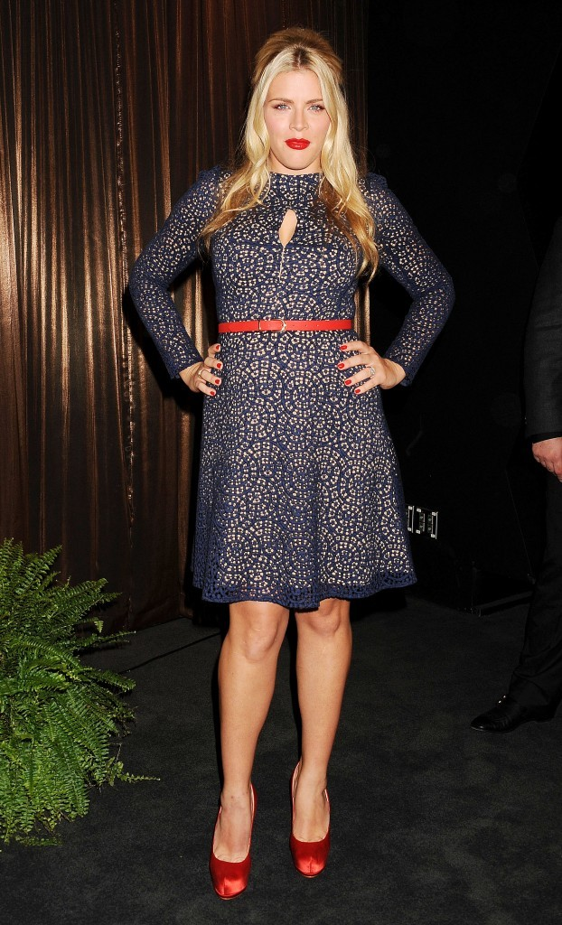 Busy Philipps à Los Angeles pour annoncer la liste des nommés au SAG Awards, le 12 décembre 2012.