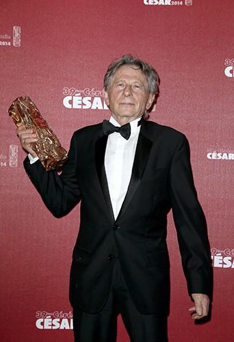 Roman Polanski à Paris le 28 février 2014