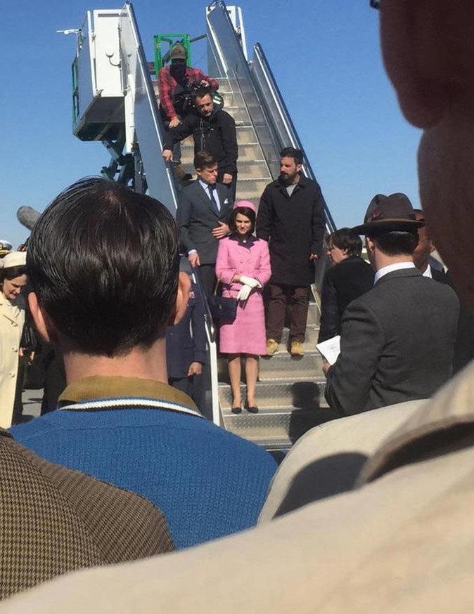 Photos : C'est historique : Natalie Portman rejoue l'assassinat de JFK