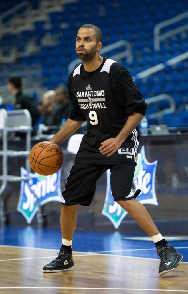 Tony Parker sacré meilleur basketteur européen de l'année 2014