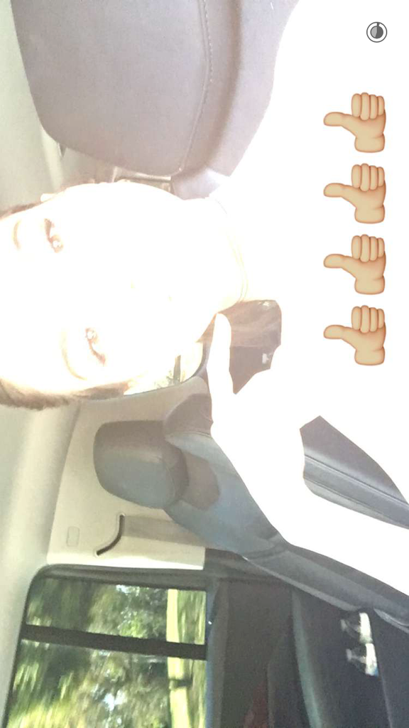 Photos : Ca y est : Kendall Jenner est sur Snapchat !
