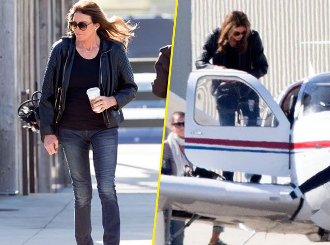 Caitlyn Jenner : déprimé, elle se change les idées dans un avion à Malibu