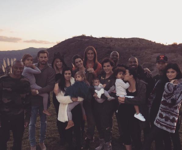 Thanksgiving chez les Kardashian le 26 novembre 2015