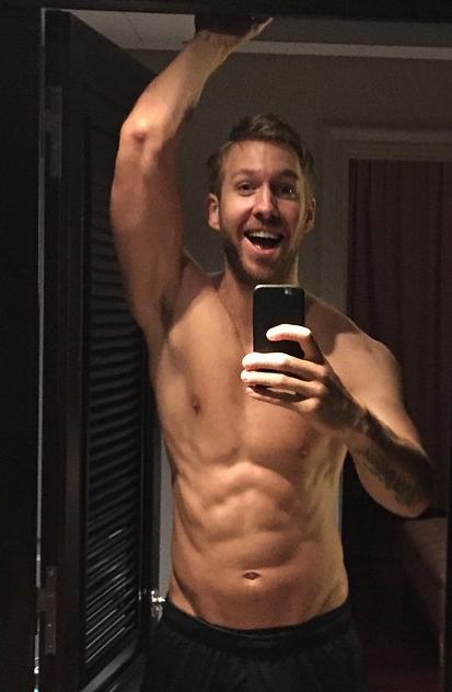 Photos : Calvin Harris : sa transformation choc !