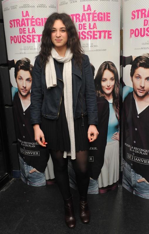 Camélia Jordana le 18 décembre 2012 à Paris