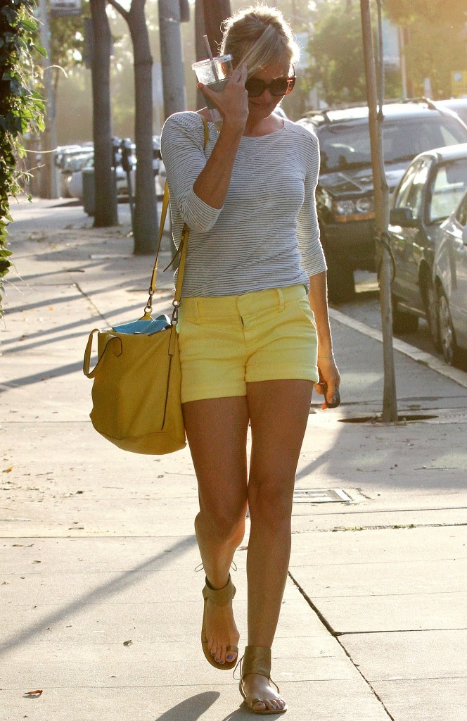 Cameron Diaz, Los Angeles, 8 aout 2012