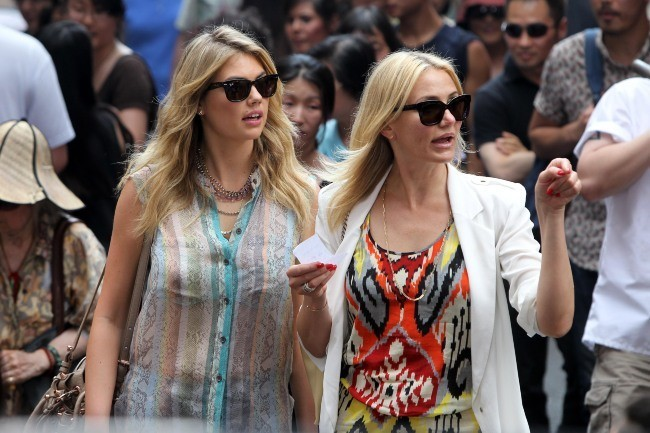 Kate Upton et Cameron Diaz le 24 juin 2013 à New York