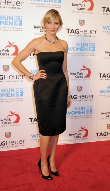 Cameron Diaz le 10 novembre 2012 à New York