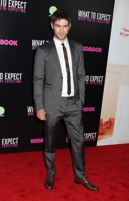 Chace Crawford lors de la première du film What To Expect When You're Expecting à New york, le 8 mai 2012.