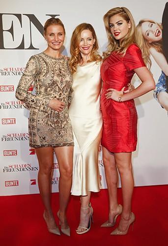 Cameron Diaz, Leslie Mann et Kate Upton à Munich le 7 avril 2014