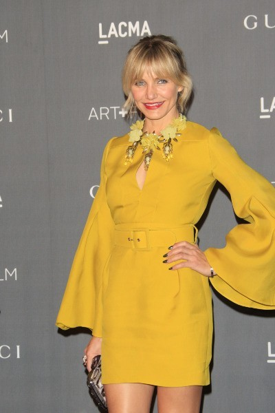Cameron Diaz lors de la soirée LACMA Art 2012 + Film Gala à Los Angeles, le 27 octobre 2012.