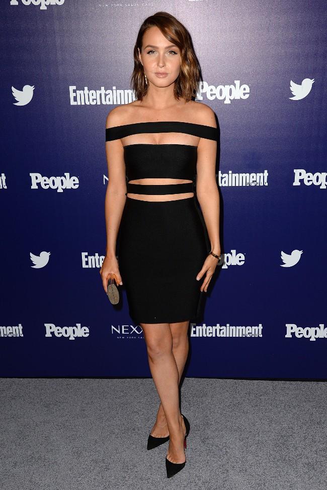 Camilla Luddington à la soirée Entertainment Weekly et People le 11 mai 2015