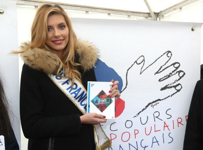 Camille Cerf : même fatiguée, Miss France 2015 reste mobilisée !