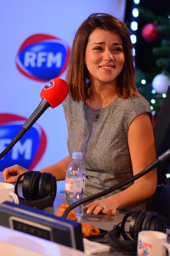 Sonia Lacen à la matinale spéciale Noël de RFM le 19 décembre 2014