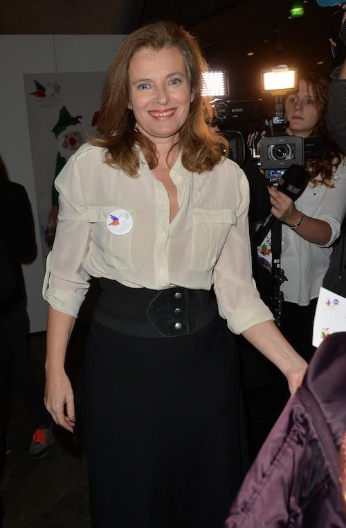 Valérie Trierweiler aux 70 ans du Secours Populaire le 8 décembre 2014 !
