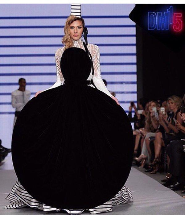 """Photos : Camille Cerf : son """"rêve"""" s'est réalisé, elle a défilé pour Jean-Paul Gaultier !"""
