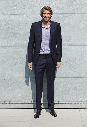Camille Lacourt à Milan le 23 septembre 2013