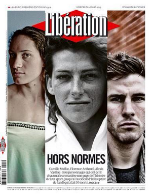 Photos : Camille Muffat, Alexis Vastine, Florence Arthaud... Des héros en unes !