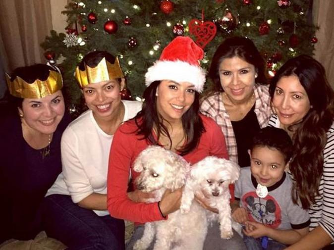 Eva Longoria et sa famille