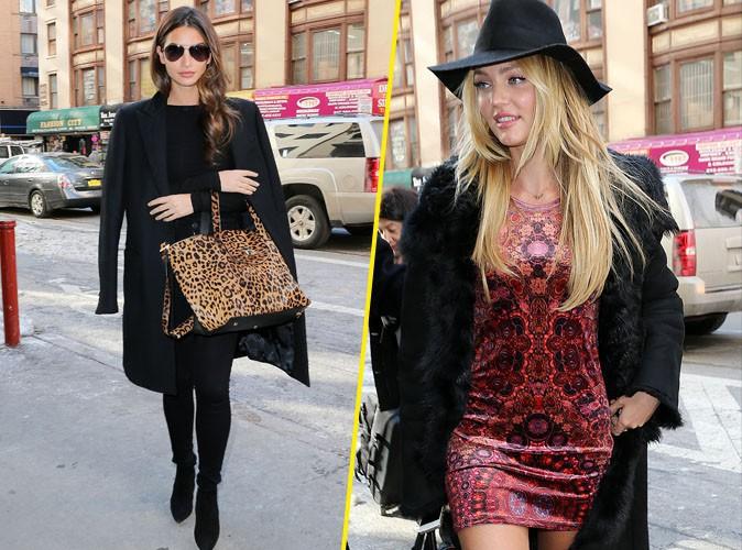 Photos : Candice Swanepoel et Lily Aldridge : sexy et complices, les Anges de Victoria's Secret sont prêtes à fêter la Saint-Valentin !