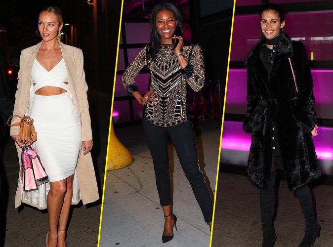 Photos : Candice Swanepoel, Leomi Anderson, Sara Sampaio... Toutes canons pour le show Victoria's Secret !