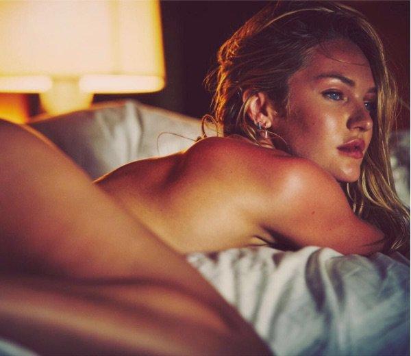 Candice Swanepoel s'affiche nue sur Instagram