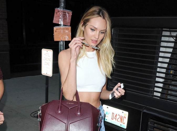 Candice Swanepoel à New York le 30 juillet 2014