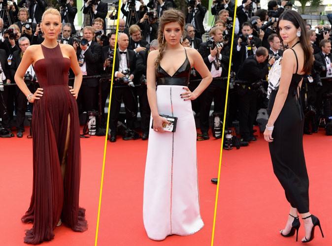 Cannes 2014 : Blake Lively, Ad�le Exarchopoulos, Kendall Jenner... toutes radieuses pour la mont�e des marches !