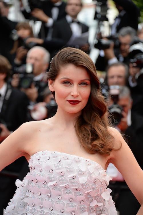 Laetitia Casta en Dior pour la première montée des marches du 67ème festival de Cannes