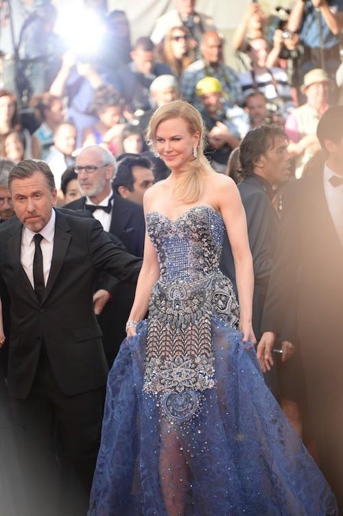 Nicoles Kidman en Armani Privé pour la première montée des marches du 67ème festival de Cannes