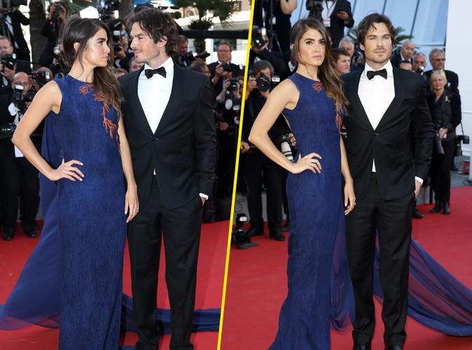 Photos : Cannes 2015 : Nikki Reed et Ian Somerhalder : les jeunes mariés illuminent le redcarpet !
