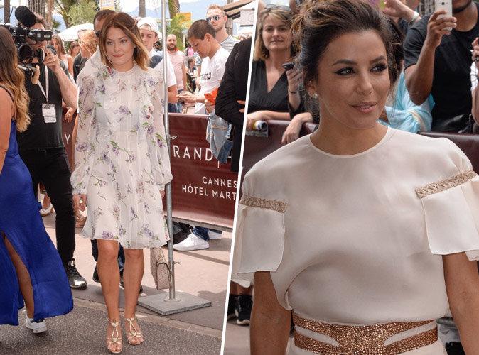 Cannes 2017 : Caroline Receveur échange un moment de complicité avec Eva Longoria !