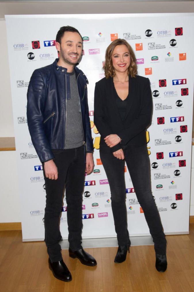 Xavier Denis et Sandrine Quétier