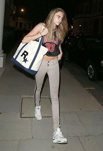 Cara Delevingne à Londres le 22 juillet 2013