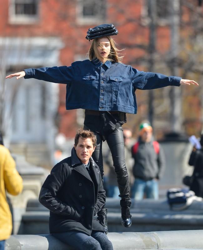 Cara Delevingne le 20 mars 2013 à New York