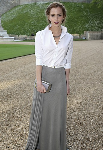 Emma Watson à Windsor le 13 mai 2014