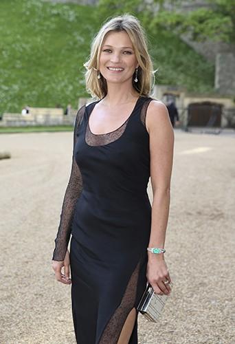 Kate Moss à Windsor le 13 mai 2014