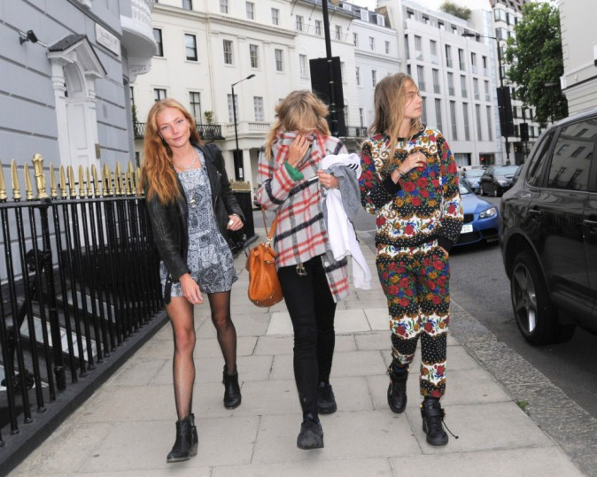 Cara Delevingne : fashion faux-pas à gogo pour son come-back à Londres !