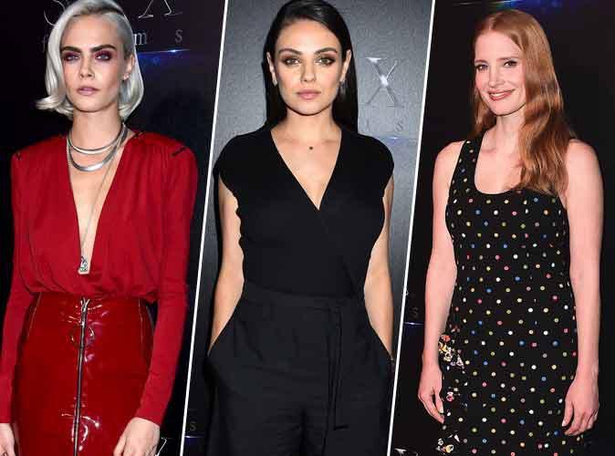 Cara Delevingne, Jessica Chastain, Mila Kunis : Trois reines de beauté au CinemaCon