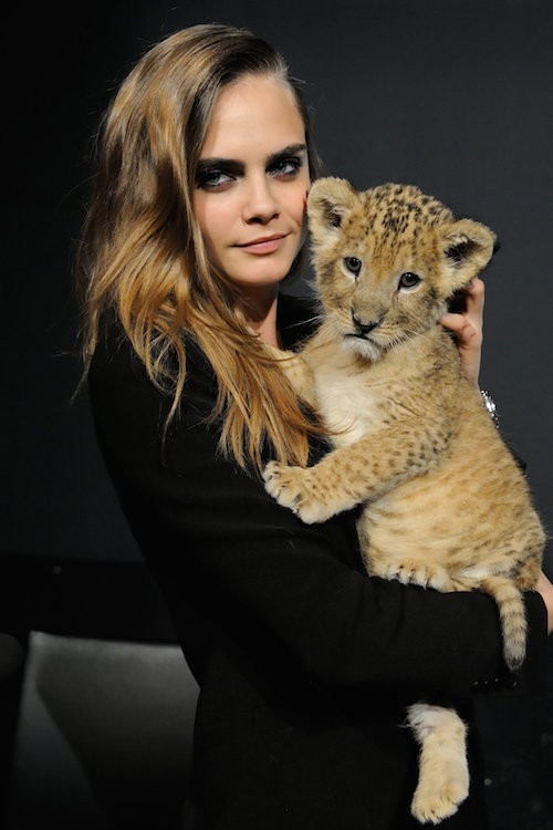 cara delevingne for tag heuer